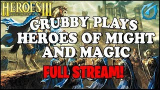 Grubby | Heroes of Might and Magic III - Full Stream!