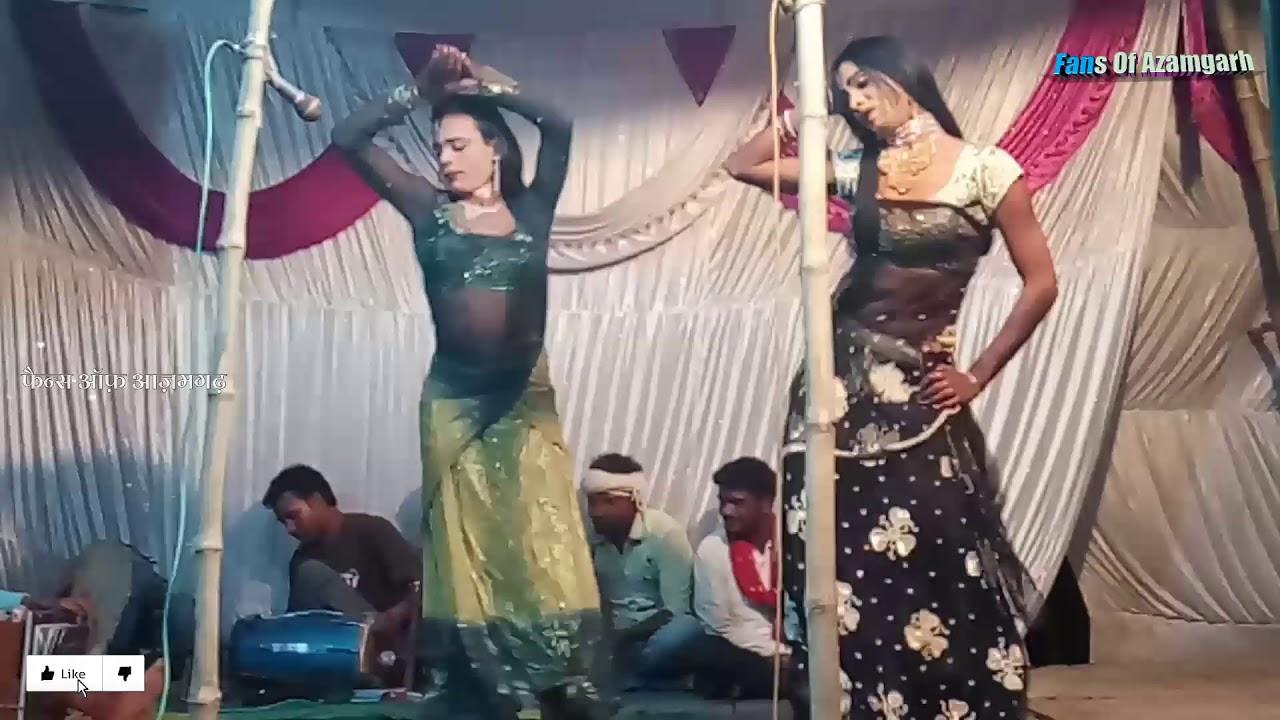 Bhojpuri Desi Nautanki Nach Azamgarh भ जप र द स न ट क न च आज मगढ Youtube