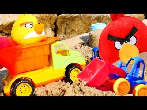 Энгри бердз (Angry Birds). Сборник мультфильмов - Злые птички. Игрушки для детей