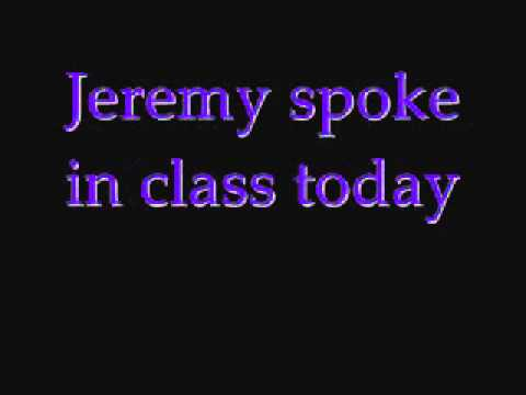 Pearl Jam - Jeremy - Lyrics