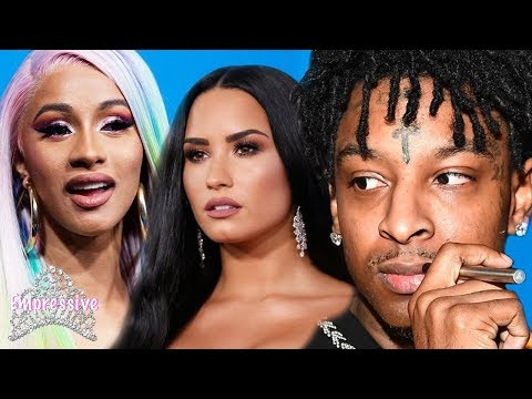 Celebrities react to 21 Savage getting deported to the UK  Cardi B Demi Lovato Wale etc