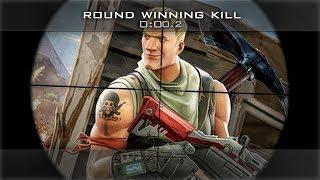 GOING FOR A TRICKSHOT KILLCAM! (Fortnite Battle Royale)