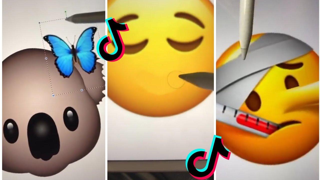 Tiktok designing emoji   pt. 2