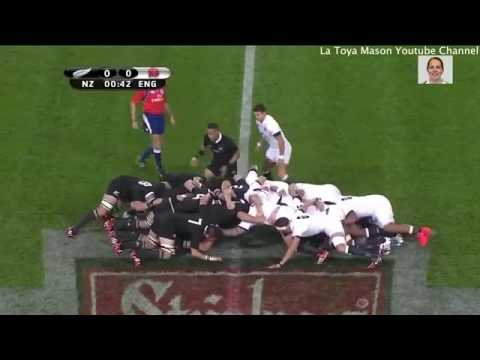 [Rugby 2017] New Zealand vs  England 3rd Test HD Match