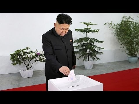 North Korea's Kim Jong-un claims 100% election result