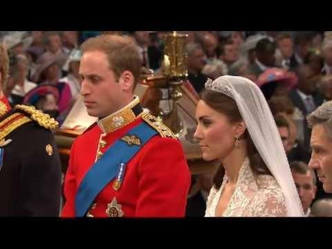 ROYAL WEDDING EXCHANGING OF VOWS PRINCE WILLIAM CATHERINE KATE MIDDLETON HD