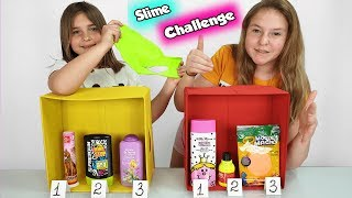 Choose The Best Don't Choose the Wrong Ingredient Slime Challenge !