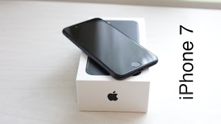 Apple iPhone 7 Black: Розпакування & Огляд