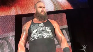 Braun Strowman makes his entrance at WWE Live in Frankfurt, Germany - Nov. 8, 2018