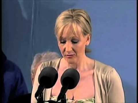 Benefits of Failure – Speech by J. K. Rowling, Author of Harry Potter