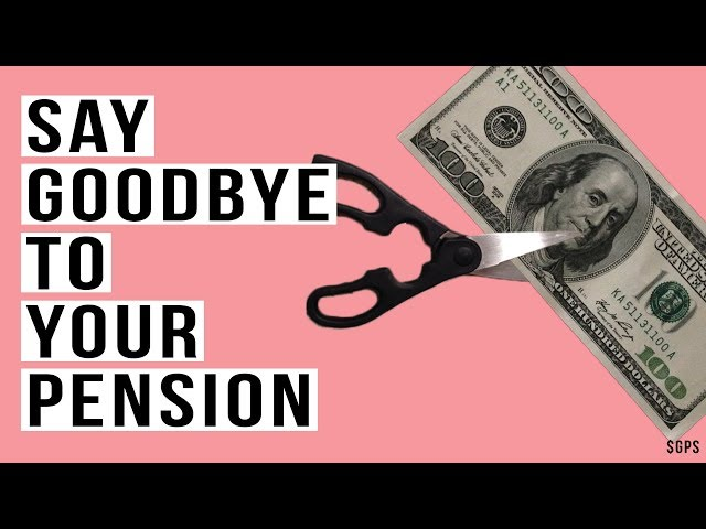 Financial Crisis and the MASSIVE Pension Benefit CUTS! California Prepares To CUT Pensions