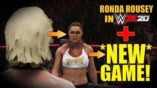 Ronda Rousey In *NEW* GAME! & Is NOT WWE 2K20...
