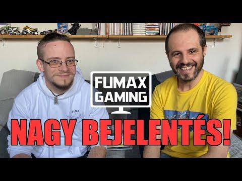A Fumax Gaming brand lett! Bejelentés hegyek Vladival és Péterrel (Fumax Kiadó)