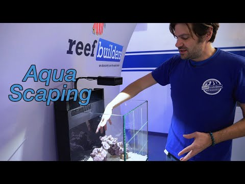 How To Setup A Reef Tank - Part 2 - Aquascaping Principles, Leveling, Live Rock