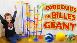 PARCOURS DE BILLES GÉANT