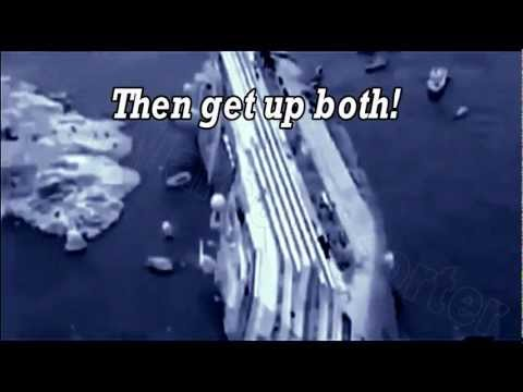 Costa Concordia Coast Guard tape Captain coward Schettino - De Falco emergency call - Eng sub -