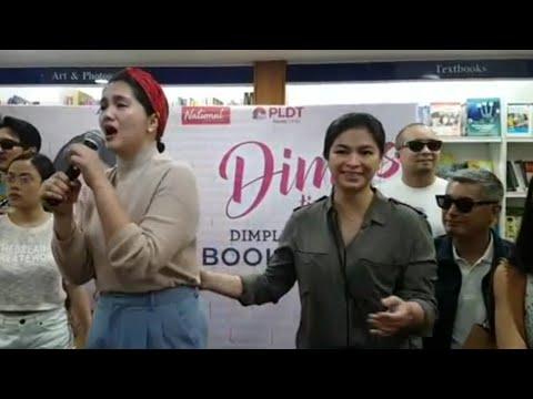 Dimples Romana, UMIYAK Nang Makita Sina ANGEL LOCSIN At Iba Pang Kaibigang Artista Sa Book Launch