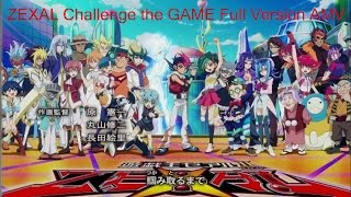 Repeat youtube video Yu-Gi-Oh! ZEXAL Challenge the GAME Full Version AMV