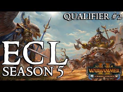 Eternal Challenger League Season 5 | Qualifier #2- Total War Warhammer 2
