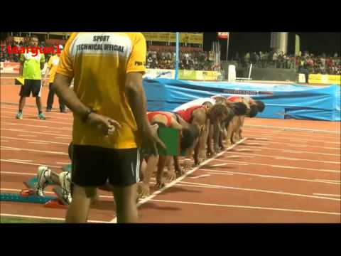 15th Pacific Games Men's 100m Sprint Final 2015