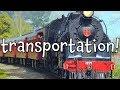 Transportation! Learn Different Types of Transportation