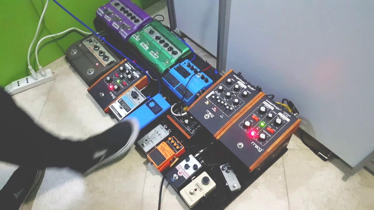 frusciante pedalboard