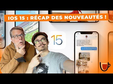 iOS 15 : Récap des nouveautés !