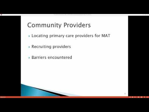 Developing Community Based Medication Assisted Recovery Program Using Technology
