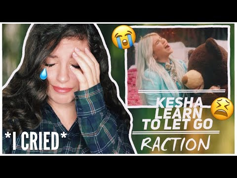 Kesha - Learn To Let Go (Official Video) | REACTION