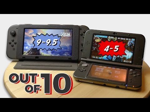 How Good is the Nintendo Switch Display? (vs. 3DS XL) Measurements