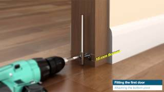 Jeld Wen Uk   How To Fit A Room Fold Room Divider