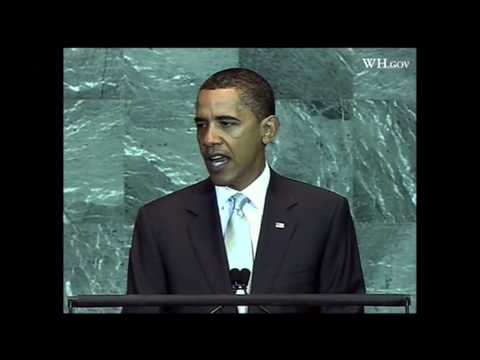 President Barack Obama at UN Climate Change Summit