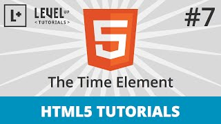 HTML5 Tutorials #7 - The Time Element Mp3