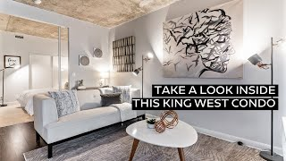 Take a look inside this King West condo!