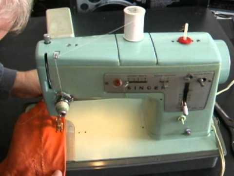 Singer 40 Sewing Machine YouTube Inspiration Singer Green Sewing Machine