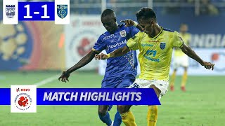 Mumbai City FC 1-1 Kerala Blasters FC - Match 32 Highlights | Hero ISL 2019-20