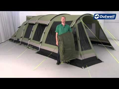 Outwell Tent Wolf Lake 7 - C&ingworld.co.uk & Outwell Tent Wolf Lake 7 - Campingworld.co.uk - YouTube