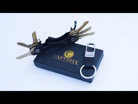 Compact Key Holder -Best Key Organizer / Smart Key Holder By Captiosa