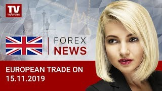 InstaForex tv news: 15.11.2019: EUR/USD и GBP/USD stuck in ranges