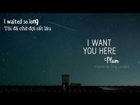 [Vietsub + Lyrics] I Want You Here - Plumb