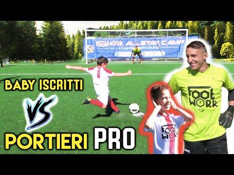ISCRITTI vs PRO GOALKEEPER !! Impossibile Passare ?! FOOTWORK Italia ft Lello Kappa