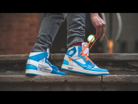 "Off-White X Nike Air Jordan 1 NRG ""UNC"": Review & On-Feet"