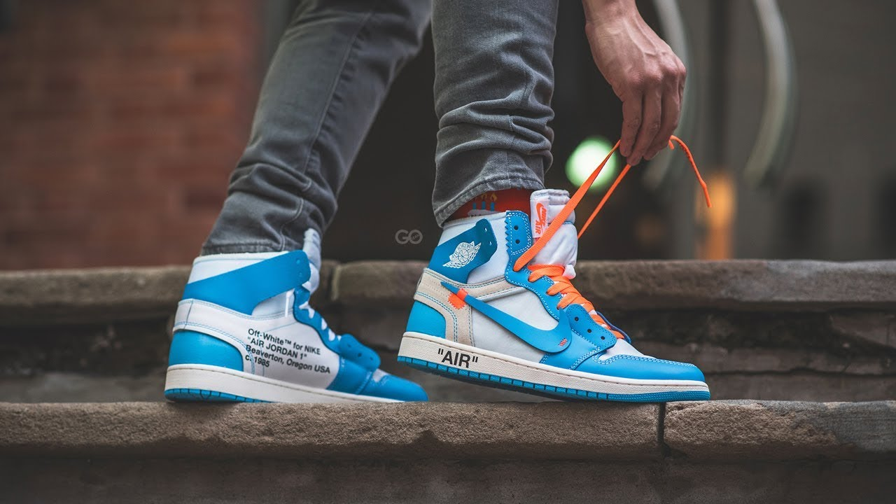 Off White x Nike Air Jordan 1 NRG