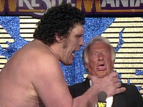 WWE Hall of Fame: Bob Uecker gets into some trouble with - YouTube