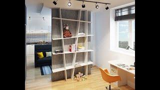 Дизайн интерьера квартир. Дизайн проект студии, площадью 30 м2(Дизайн интерьера квартир. Дизайн проект студии, площадью 30 м2 был реализован для молодой девушки, которая..., 2015-08-10T06:47:33.000Z)