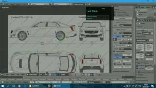 Car Modelling [Blender]: Part 1 - Setting Blueprint (Indonesia)