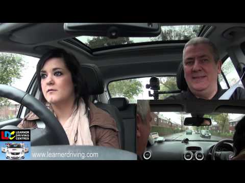 Claire's 7th driving lesson - M3 reverse right & junctions
