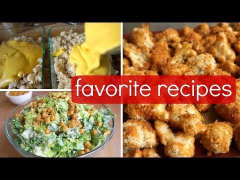 Cooking for a Non-Vegan // Mac & Cheese, Caesar Salad, Buffalo Cauliflower