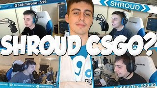 When Shroud Used To Stream CSGO