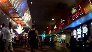 Walking Through Hooters Casino Hotel Las Vegas 2014